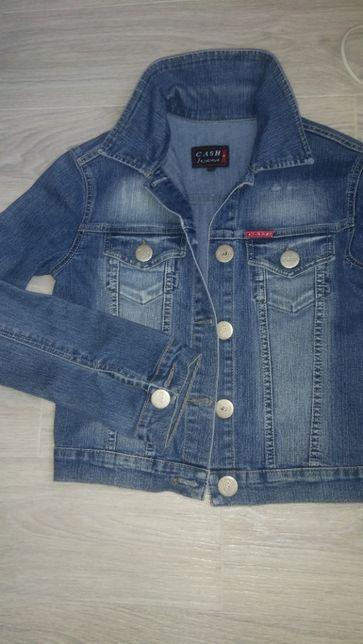 Джинсовый пиджак,куртка CASH(Турция)