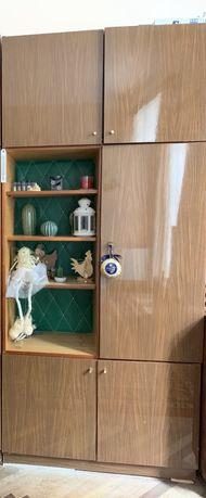 сервант, стелаж, меблі в вітальню, пенал, шафа, чешська дерево