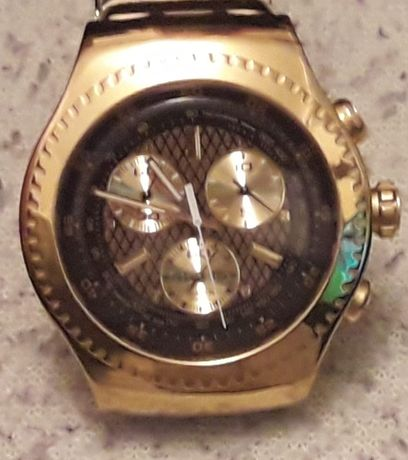 2x Relógio Swatch 007 James Bond,Goldfinger e Oddjob edicao especial ,