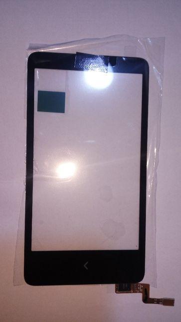 Сенсорный экран для Nokia X Dual Sim, черный