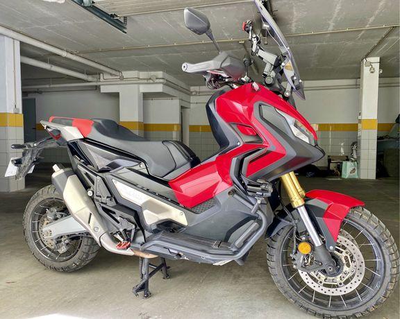 Honda X-adv 750 DCT troca Retoma