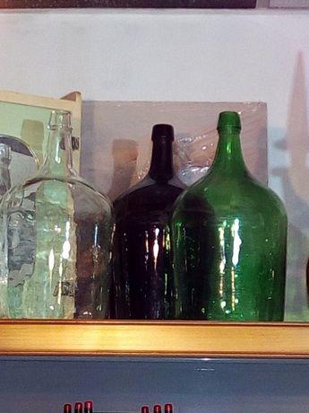 Garrafões de 5 litros para decoração