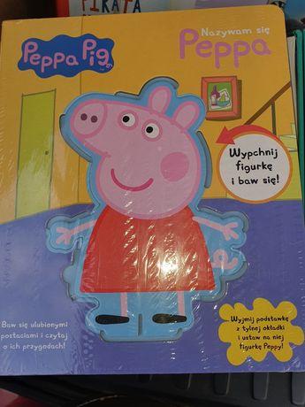 Książeczki dla dzieci Peppa Pig z figurkami