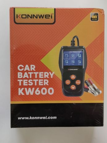 Тестер автомобильных аккумуляторов Konnwei KW600