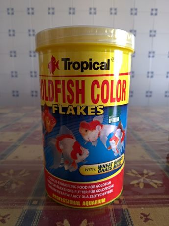 Comida Marca Tropical Goldfish Color 1000ml