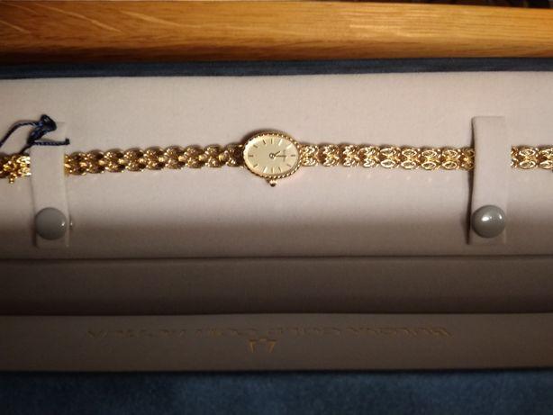Złoty zegarek Bulova Ladies Gold Collection pr. 585