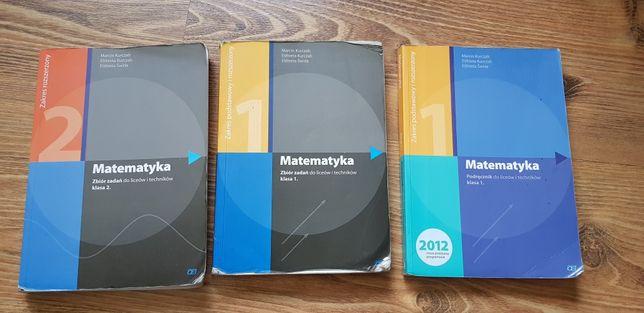 Podręcznik oraz zbiory zadań matematyka dla liceum technikum polski