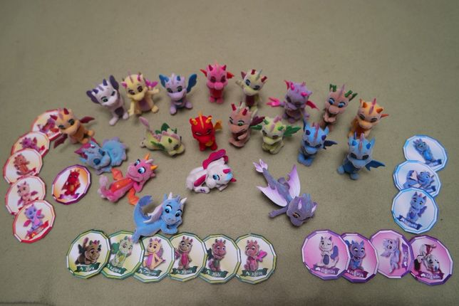Полная коллекция первой серии дракончиков Сафирас.