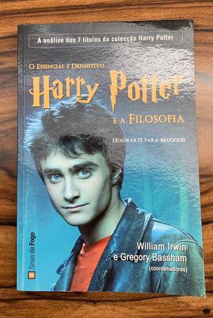 """Livro """"O Essencial e Definitivo - Harry Potter e a Filosofia"""""""
