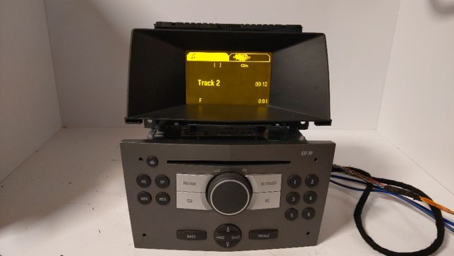 Ople Astra 3 Zafira Vetra C Radio sprawne wylogowanie