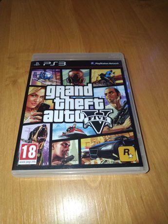 Gta 5 na PS3 w stanie bardzo dobrym