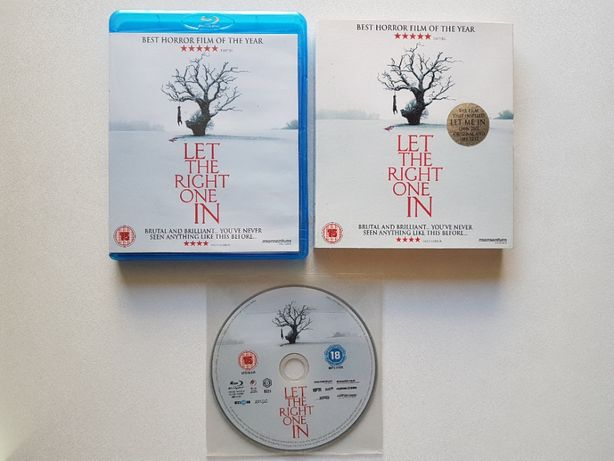 Let the Right One In | Deixa-me Entrar | Blu-Ray | *Slipcover Sleeve*
