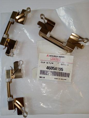 4605A195 Mitsubishi 3-и пружины крепления передних дисковых колодок.