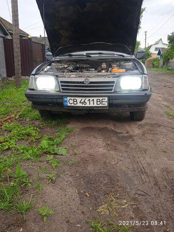 Opel Ascona c на газу