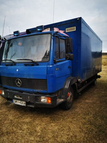 Mercedes 814 resor