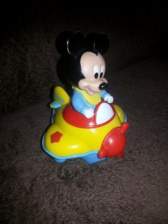 Clementoni Muzyczny Samolot Myszki Miki