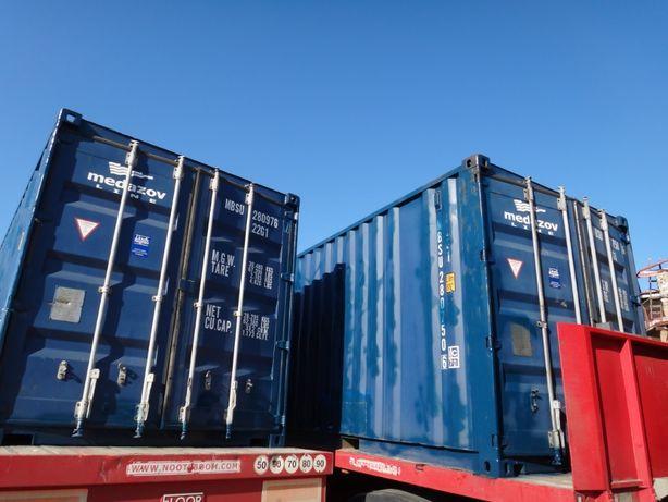 Контейнер транспортный морской 20 футов тонн, большой выбор. Доставка.