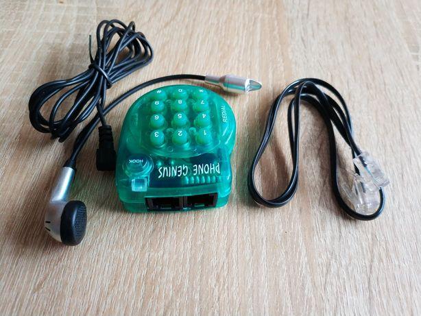 Mini mały telefon analogowy przewodowy do zadań specjalnych. Sprawdź