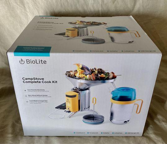 Biolite Camstove 2+ bundle (KettlePot, CoffeePress, Portable Grill)