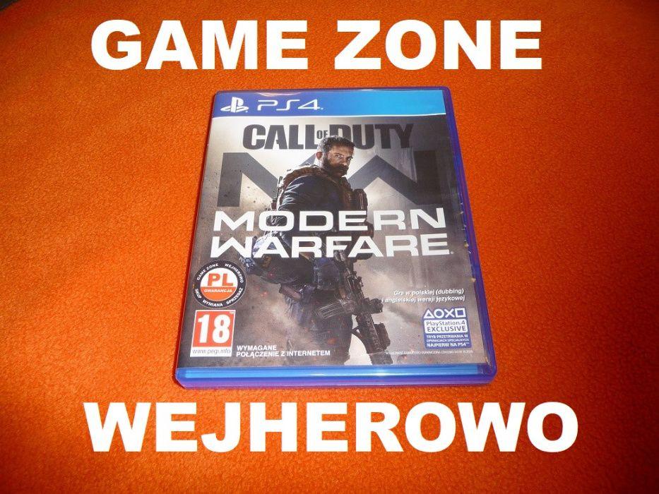 Call of Duty Modern Warfare PS4 + Slim + Pro = PŁYTA PL Wejherowo Wejherowo - image 1