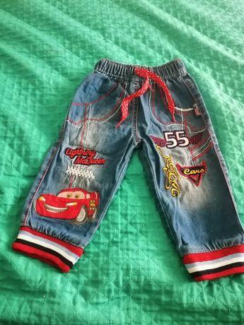 Spodnie jeansowe dla chłopca rozmiar 74