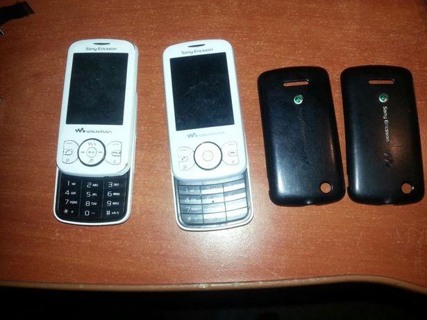 Dwa telefony Sony Ericsson W100i Spiro uszkodzone. Cena za oba.
