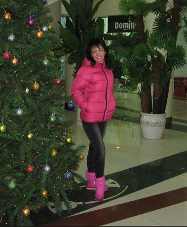 куртка зимняя розовая в комплекте с розовыми дутиками