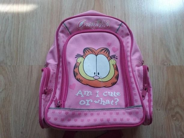 Reserved,plecak szkolny, plecaczek, Garfield
