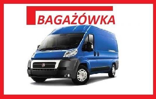 od 50 zł - Przewóz rzeczy - Transport mebli - Przeprowadzki Bagażówka