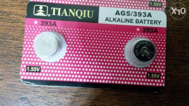 Pilhas Alcalinas Tianquiu AG5/393A 1,55V