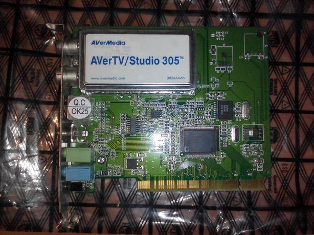 Продам TV-тюнер AverMedia 305