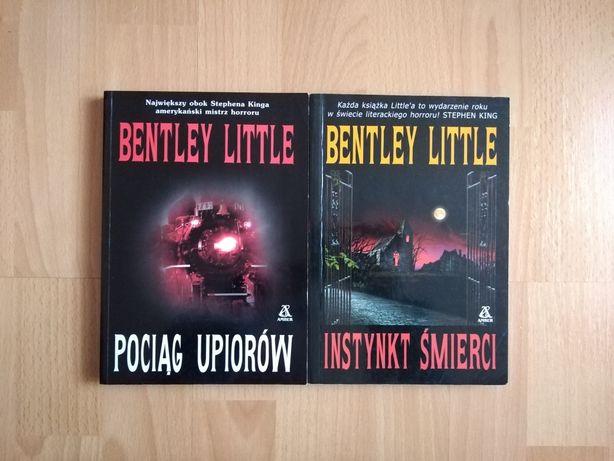 Bentley Little Pociąg upiorów Instynkt śmierci horror thriller