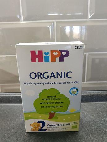 Hipp organic 2 детская смесь