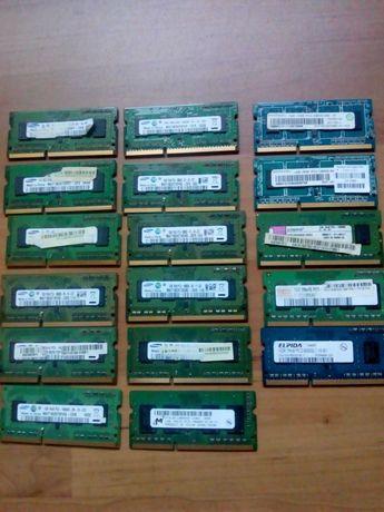 Оперативная память для ноутбука 1gb DDR2, 1gb DDR3