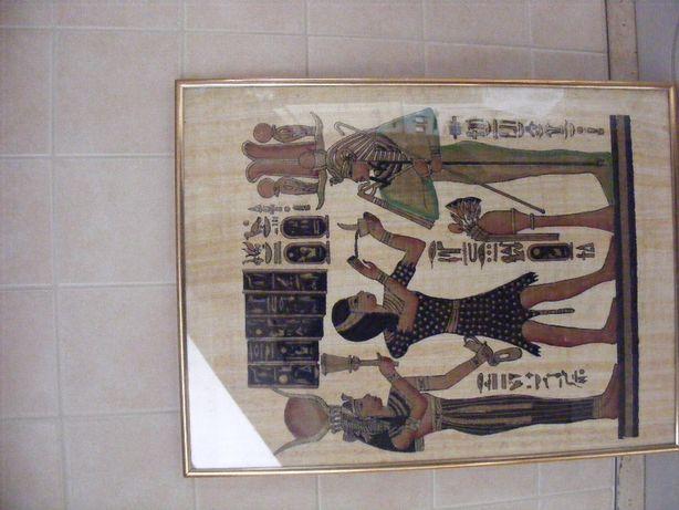 Obrazek z motywem egipskim