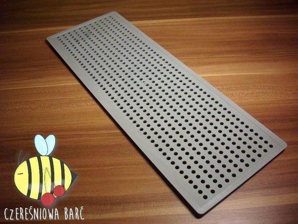 PSZCZOŁY, miód, ule - PŁYTKA poławiająca pyłek SZEROKA 408/148 mm