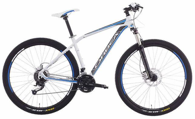 """Rower Orbea Alma H70 L 26"""" biało-czarno-niebieski + błotniki NOWY"""