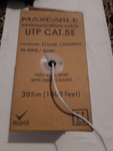 Kabel skrętka UPT CAT 5E na metry