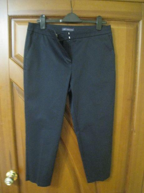 женские брюки штаны укороченные под классику, р,50-52-uk14 -eur42