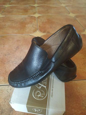 Туфли- мокасины кожаные 36 размер, 23 см.,