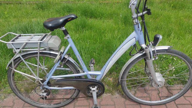 Holenderski Rower elektryczny Sparta Emotion C2 sprawny do ogarnięcia
