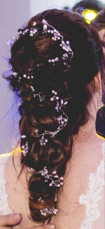 Ozdoba do włosów, ślub
