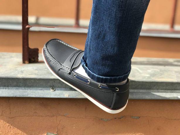 Мужские летние мокасины Vintage для повседневной носки