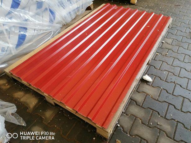 Blacha trapezowa II Gat. na dach i ścianę - dostępna od ręki