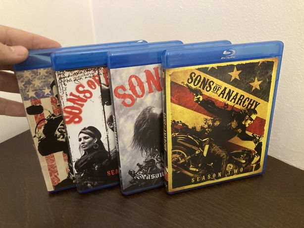 Synowie Anarchii jezyk angielskim sezony 1-4 Blu Ray