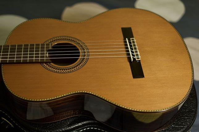 Gitara klasyczna lutnicza dobrej firmy - okazja