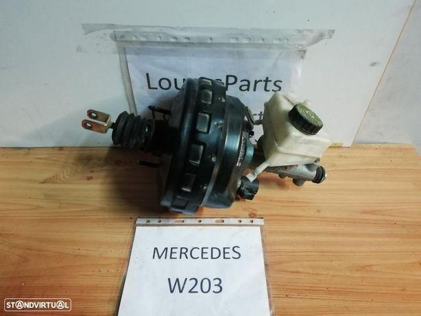 Servo freio e bomba central travões Mercedes serie C W203 220 cdi