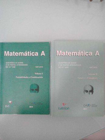 Livros Matemática 12º ano