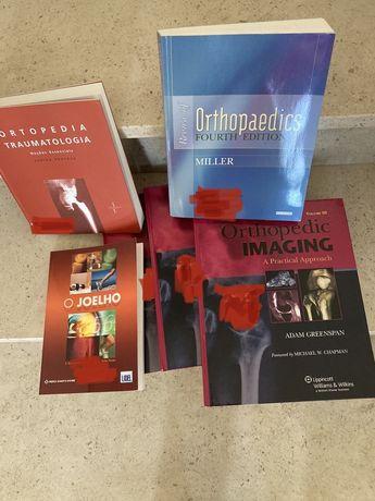 Ortopedia. Varios livros novos
