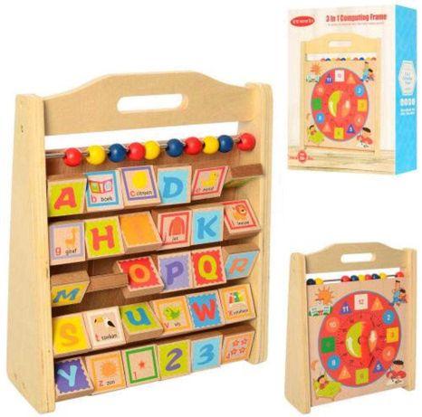Продам детский развивающий игровой центр деревянный